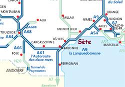 Accès autoroutier de Sète (c) Office de Tourisme de Sète
