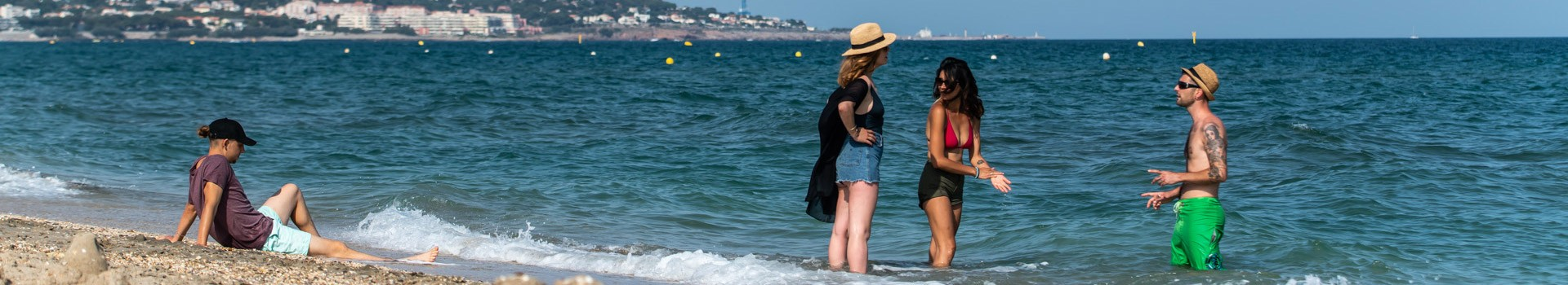 Les plages du Lido