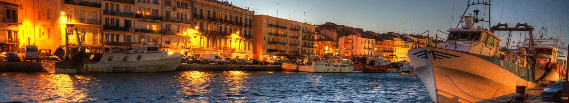 Sortir - soirée sur les quais -Sète