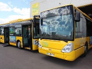 Busfahren in Sète