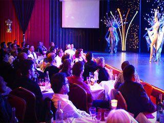 Cabaret,  jantar e concerto