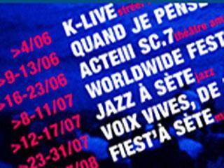 Festivals, spectacles et concerts