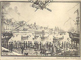 De geschiedenis van Sète
