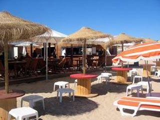 Os restaurantes de praias