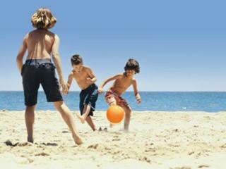 S'amuser à la plage