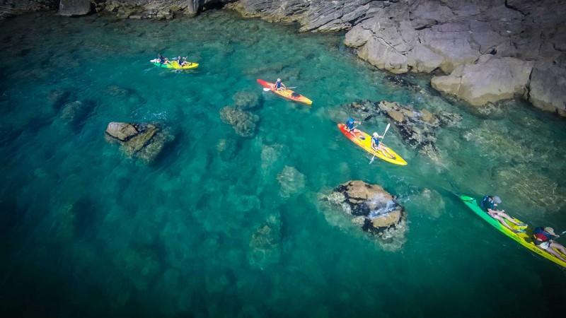 Nell'arcipelago di Thau