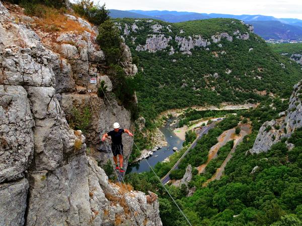 Um pouco mais à frente na Occitânia