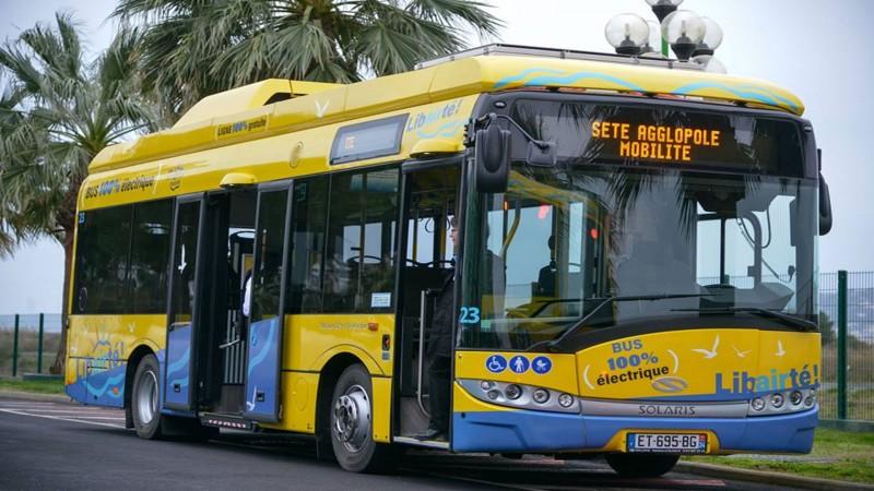 De stadsbussen