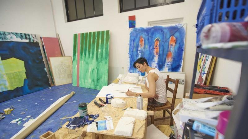 Werkstätten von Künstlern