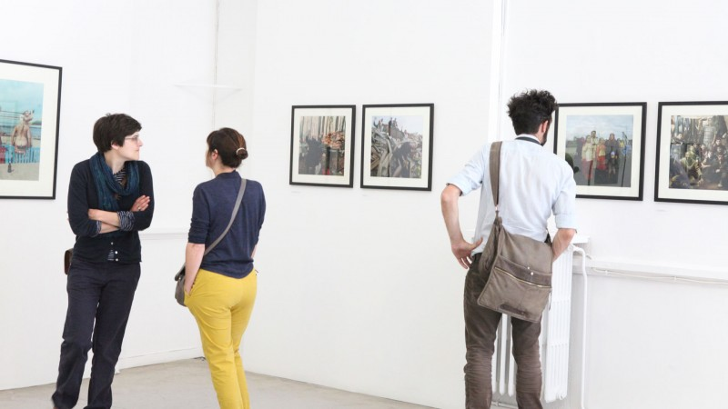 Exposiciones de artistas y galerías de arte