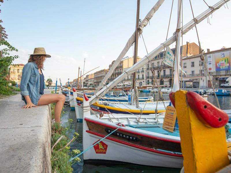 Lateen sail - Catalanes boat