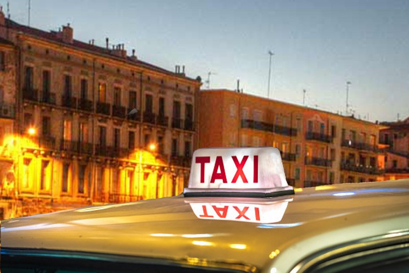 De taxi's