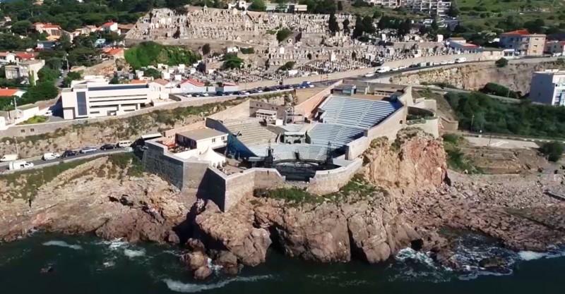 Het theater van de zee