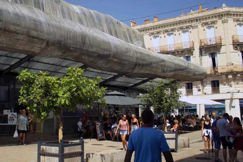 De markt van Les Halles