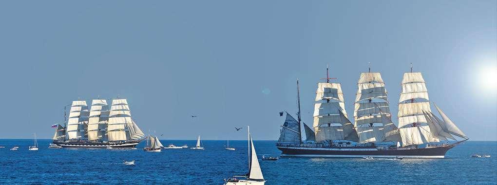 Grands navires d'Escale à Sète