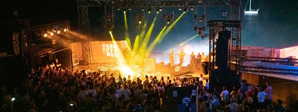 Theatre de la mer Sete Concert