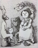 espace-felix-jean pierre le-bail dessin Alice