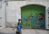 Maco K live Musee a ciel ouvert Sete 2012  street art peinture