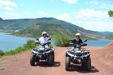 Randonnée Quad - Lac du Salagou -