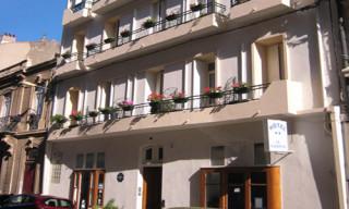 Hôtel Le National - Sète - Façade