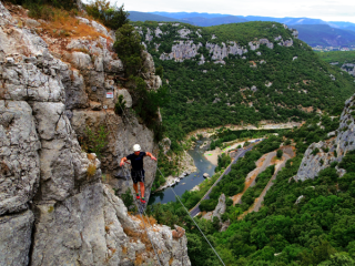 Via Ferrata Canoe 34 herault