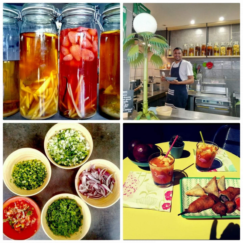 PATCHXORK restaurant l'ananas Sete