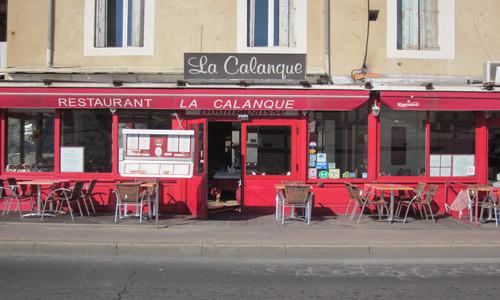 Restaurant la Calanque