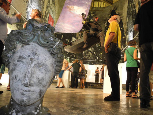 Chapelle du quartier haut sete galerie exposition art