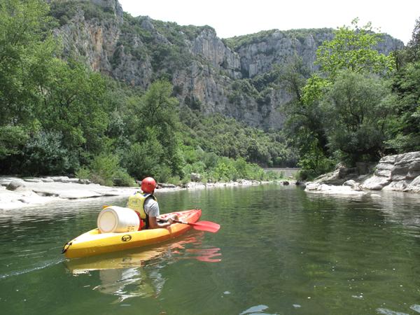 Gorges de l'herault  Canoe 34 herault