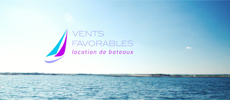 Vents Favorables Logo mer location bateau formation