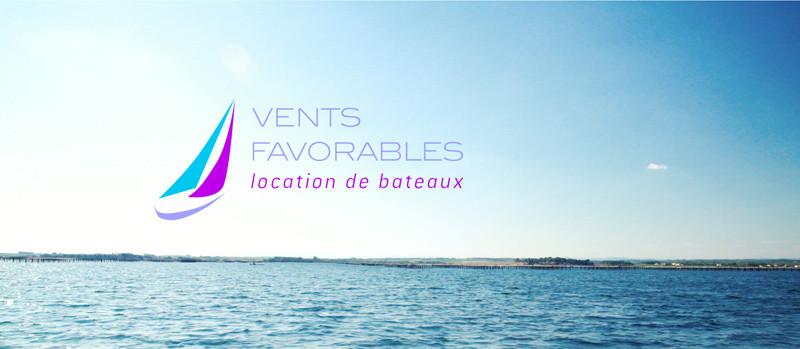 Vents Favorables Logo mer location bateau formation