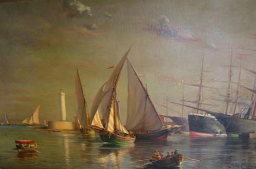 Musee Paul Valery Sete peinture