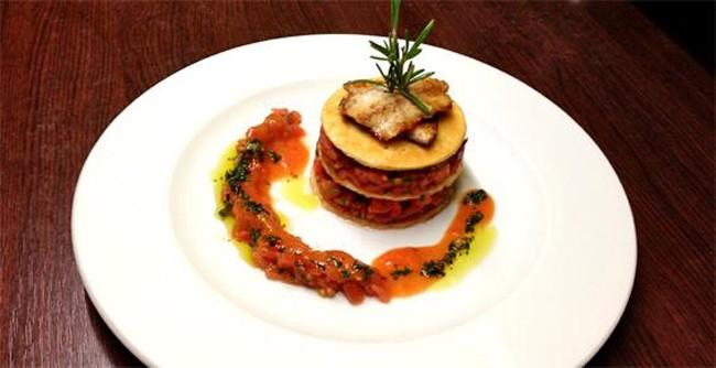 Restaurant le Porto Pollo Sete plat
