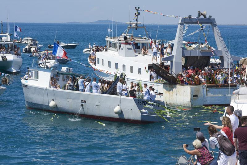 Fête des pêcheurs Saint Pierre à Sète - © R. Baras