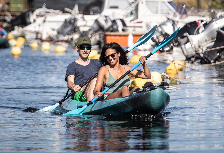 Kayak sur la lagune de Thau - © Olivier Octobre