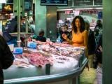 Marche poissons Halles de Sete