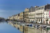 Vue canal quai lemaresquier Sete