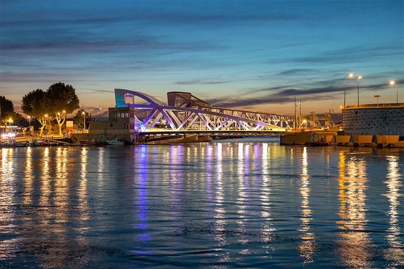 2019 Pont Sadi Carnot Sète Canal Hérault Languedoc Occitanie Archipel de Thau
