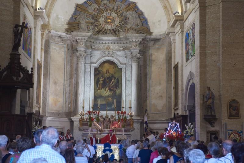 Fête pêcheurs messe église