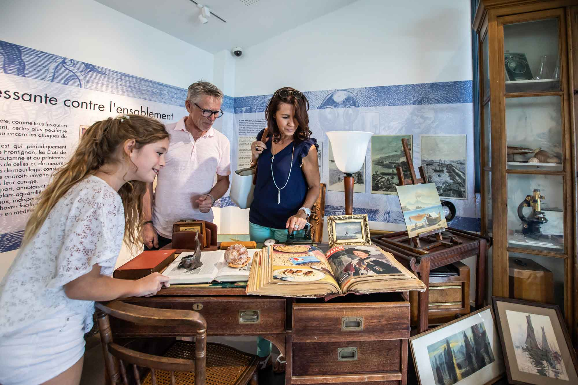 Visite au musée de la mer
